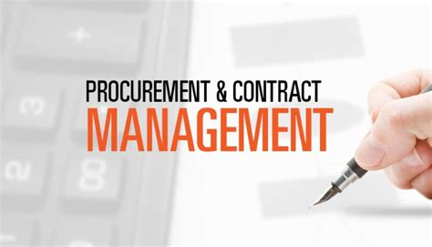 Project Procurement and Contracts - Fall 2020